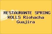 RESTAURANTE SPRING ROLLS Riohacha Guajira