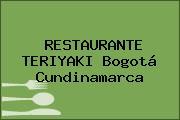 RESTAURANTE TERIYAKI Bogotá Cundinamarca