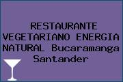 RESTAURANTE VEGETARIANO ENERGIA NATURAL Bucaramanga Santander