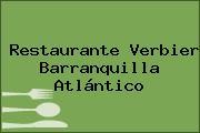 Restaurante Verbier Barranquilla Atlántico