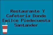 Restaurante Y Cafetería Donde Emilce Piedecuesta Santander