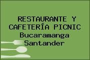RESTAURANTE Y CAFETERÍA PICNIC Bucaramanga Santander