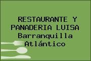 RESTAURANTE Y PANADERIA LUISA Barranquilla Atlántico