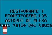 RESTAURANTE Y PIQUETEADERO LOS ANTOJOS DE ALEXA Cali Valle Del Cauca