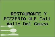 RESTAURANTE Y PIZZERIA ALE Cali Valle Del Cauca
