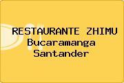 RESTAURANTE ZHIMU Bucaramanga Santander