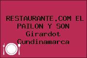 RESTAURANTE.COM EL PAILON Y SON Girardot Cundinamarca