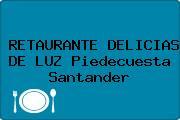 RETAURANTE DELICIAS DE LUZ Piedecuesta Santander