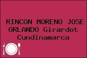 RINCON MORENO JOSE ORLANDO Girardot Cundinamarca