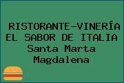 RISTORANTE-VINERÍA EL SABOR DE ITALIA Santa Marta Magdalena
