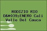 RODIZIO RIO D'ENERO Cali Valle Del Cauca