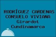 RODRÍGUEZ CARDENAS CONSUELO VIVIANA Girardot Cundinamarca