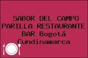 SABOR DEL CAMPO PARILLA RESTAURANTE BAR Bogotá Cundinamarca