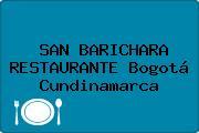 SAN BARICHARA RESTAURANTE Bogotá Cundinamarca
