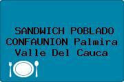 SANDWICH POBLADO CONFAUNION Palmira Valle Del Cauca