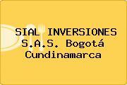 SIAL INVERSIONES S.A.S. Bogotá Cundinamarca