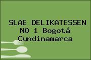 SLAE DELIKATESSEN NO 1 Bogotá Cundinamarca