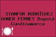 STANFOR RODRÍGUEZ DANER FERNEY Bogotá Cundinamarca