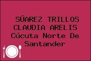 SÚAREZ TRILLOS CLAUDIA ARELIS Cúcuta Norte De Santander