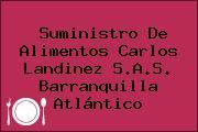 Suministro De Alimentos Carlos Landinez S.A.S. Barranquilla Atlántico