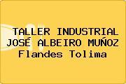 TALLER INDUSTRIAL JOSÉ ALBEIRO MUÑOZ Flandes Tolima