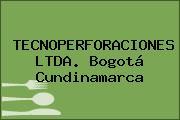 TECNOPERFORACIONES LTDA. Bogotá Cundinamarca