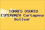 TORRES OSORIO ESPERANZA Cartagena Bolívar