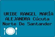 URIBE RANGEL MARÍA ALEJANDRA Cúcuta Norte De Santander