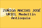 ZUÑIGA MACIAS JOSÉ URIEL Medellín Antioquia