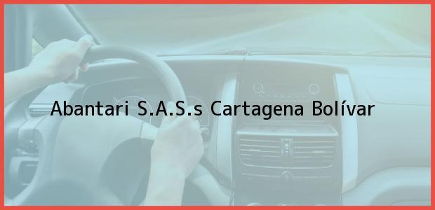 Teléfono, Dirección y otros datos de contacto para Abantari S.A.S.s, Cartagena, Bolívar, Colombia