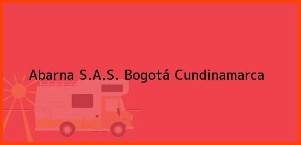 Teléfono, Dirección y otros datos de contacto para Abarna S.A.S., Bogotá, Cundinamarca, Colombia