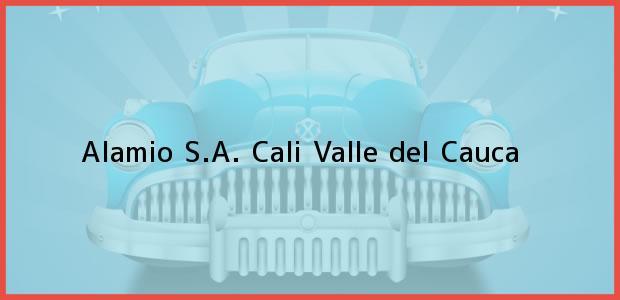 Teléfono, Dirección y otros datos de contacto para Alamio S.A., Cali, Valle del Cauca, Colombia