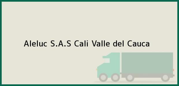 Teléfono, Dirección y otros datos de contacto para Aleluc S.A.S, Cali, Valle del Cauca, Colombia