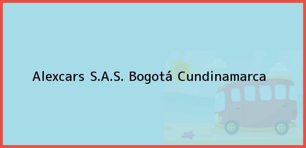 Teléfono, Dirección y otros datos de contacto para Alexcars S.A.S., Bogotá, Cundinamarca, Colombia
