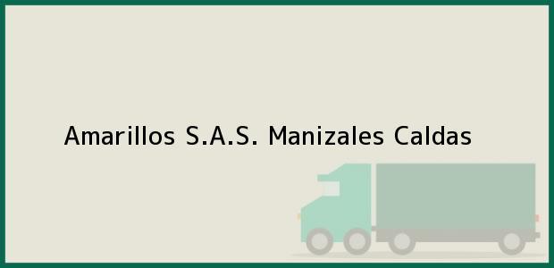 Teléfono, Dirección y otros datos de contacto para Amarillos S.A.S., Manizales, Caldas, Colombia
