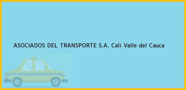 Teléfono, Dirección y otros datos de contacto para ASOCIADOS DEL TRANSPORTE S.A., Cali, Valle del Cauca, Colombia