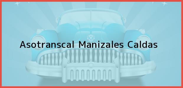 Teléfono, Dirección y otros datos de contacto para Asotranscal, Manizales, Caldas, Colombia