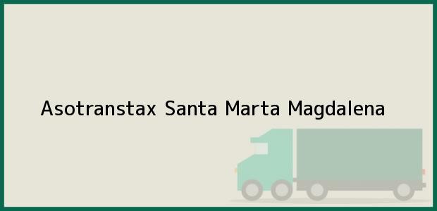 Teléfono, Dirección y otros datos de contacto para Asotranstax, Santa Marta, Magdalena, Colombia