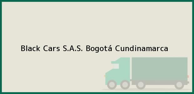 Teléfono, Dirección y otros datos de contacto para Black Cars S.A.S., Bogotá, Cundinamarca, Colombia