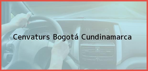 Teléfono, Dirección y otros datos de contacto para Cenvaturs, Bogotá, Cundinamarca, Colombia