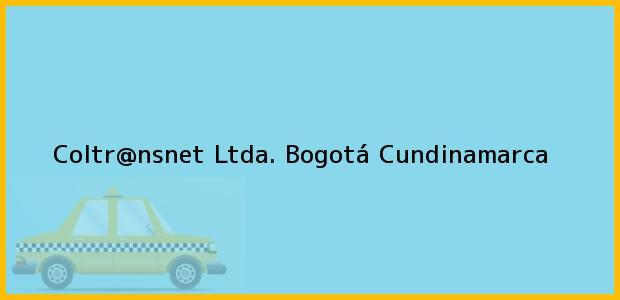 Teléfono, Dirección y otros datos de contacto para Coltr@nsnet Ltda., Bogotá, Cundinamarca, Colombia