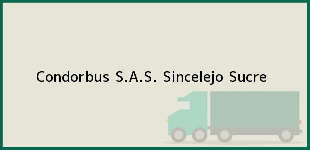 Teléfono, Dirección y otros datos de contacto para Condorbus S.A.S., Sincelejo, Sucre, Colombia