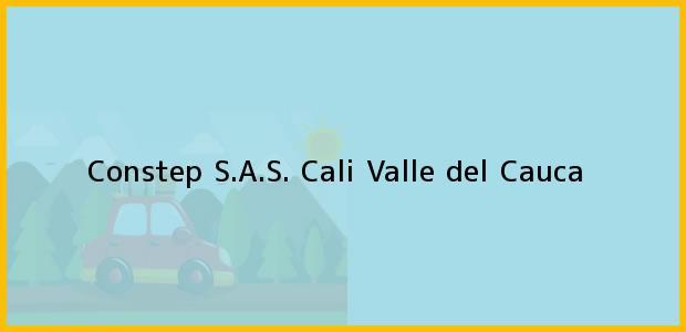 Teléfono, Dirección y otros datos de contacto para Constep S.A.S., Cali, Valle del Cauca, Colombia