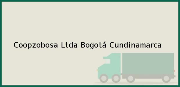 Teléfono, Dirección y otros datos de contacto para Coopzobosa Ltda, Bogotá, Cundinamarca, Colombia