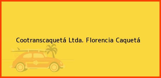 Teléfono, Dirección y otros datos de contacto para Cootranscaquetá Ltda., Florencia, Caquetá, Colombia
