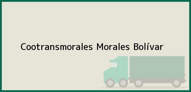 Teléfono, Dirección y otros datos de contacto para Cootransmorales, Morales, Bolívar, Colombia