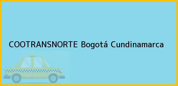 Teléfono, Dirección y otros datos de contacto para COOTRANSNORTE, Bogotá, Cundinamarca, Colombia
