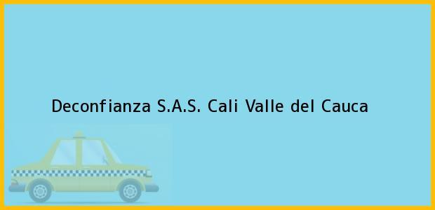Teléfono, Dirección y otros datos de contacto para Deconfianza S.A.S., Cali, Valle del Cauca, Colombia