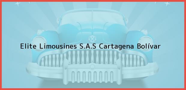 Teléfono, Dirección y otros datos de contacto para Elite Limousines S.A.S, Cartagena, Bolívar, Colombia
