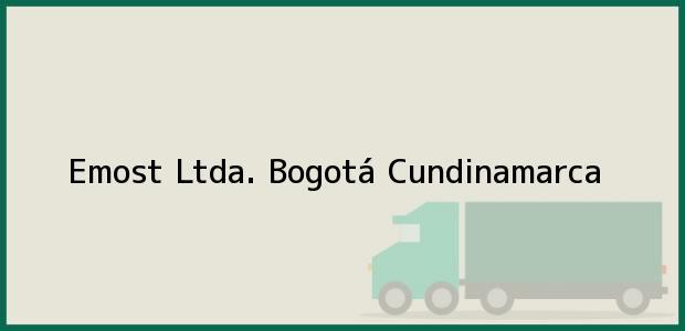 Teléfono, Dirección y otros datos de contacto para Emost Ltda., Bogotá, Cundinamarca, Colombia
